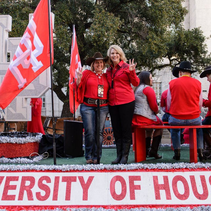 University of Houston Float