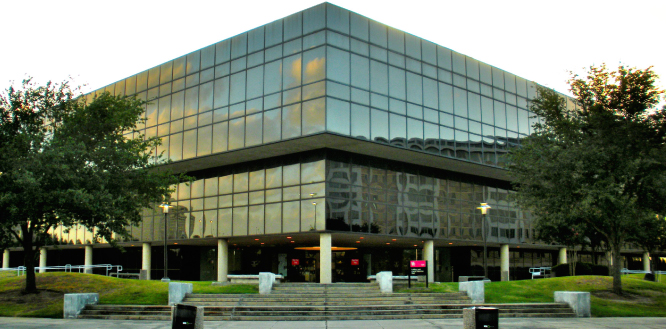 The University of Houston Bauer College of Business Exterior