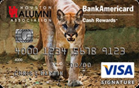 University of Houston Alumni Association BankAmericard