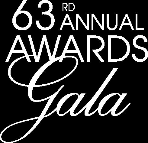 63rd awards gala