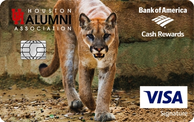 UH Bank of America Card