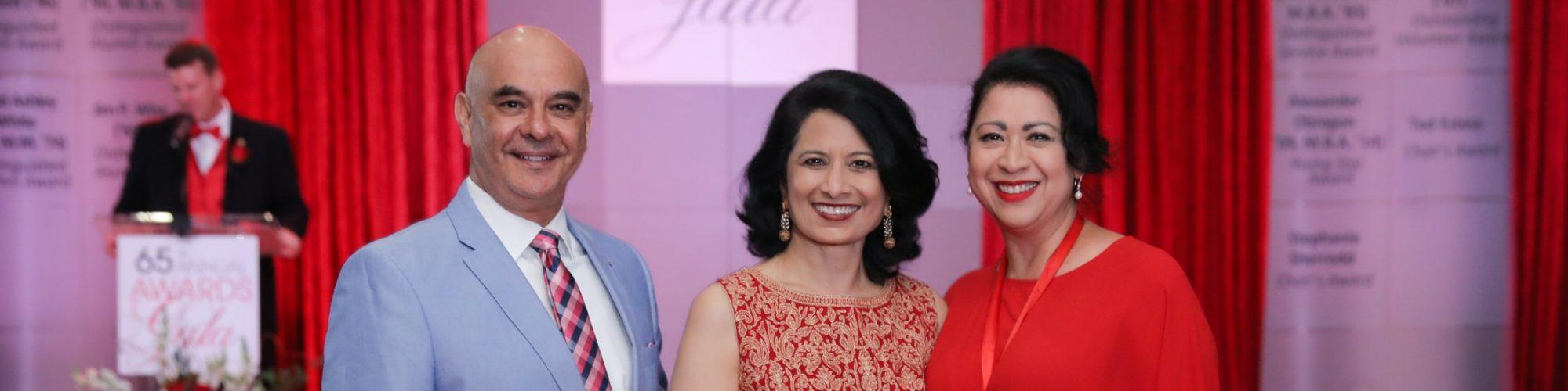Laura Murillo-and-Rick-Noriega at the UHAA alumni gala awards